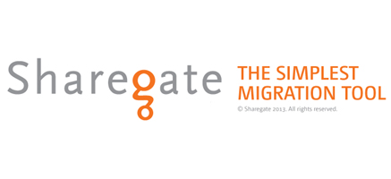 Sharegate:THE SIMPLEST MIGRATION TOOL