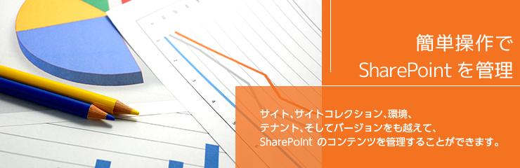 Sharegateで、コンテンツの移動・コピーなどデータ移行や分析に必要なレポートなどSharePointを簡単に管理